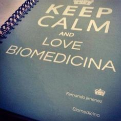 Biomedicina. Love it.