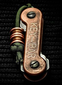 KEY-BAR Copper Premium EDC Pocket Key Holder Organizer - Everyday Carry Gear