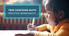 Whether used as a quiz or just a fun, additional lesson, use these free Horizons Math practice worksheets for grades 2-6 to review your child's math skills. Simply select your child's appropriate grade level and print each worksheet set to begin.  #freehomeschool #freeworksheeks #math #practiceworksheets #mathpractice Math Practice Worksheets, 2nd Grade Worksheets, Math Practices, Math Skills, Homeschooling, Letter Board, Education, Free Stuff, Fun