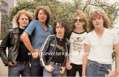 I must be dreaming; Steve Clark in an Aerosmith shirt. G Eazy Concert, Aerosmith Shirt, Steve Clarke, Phil Collen, Rick Savage, Joe Elliott, Def Leppard, Rock Music, 80s Music