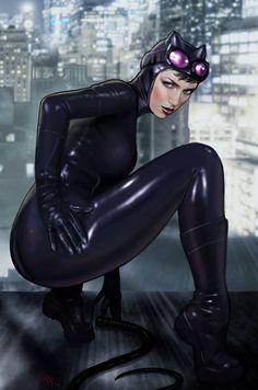 Catwoman by Raffael Marinetti