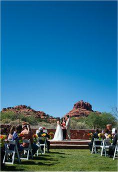 Red Agave Resort, Sedona Wedding
