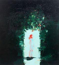 Into the Light, Oil on canvas, 2009, 183 x 168cm, 2010