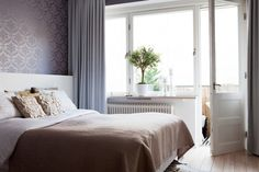 nice and calm Awesome Bedrooms, Sweet Home, Sleep Well, Calm, Homes, Spaces, Inspiration, Furniture, Home Decor
