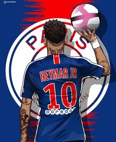Awesome piece of art Cr7 Messi, Neymar Psg, Lionel Messi, Best Football Players, Football Art, Soccer Players, Sports Football, Neymar Jr Wallpapers, Ronaldo Wallpapers