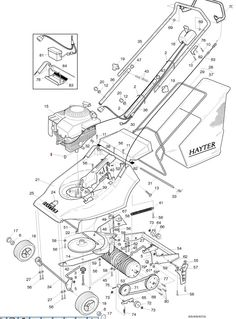 64 Best Hayter Harrier 41 Spares Parts Diagrams from
