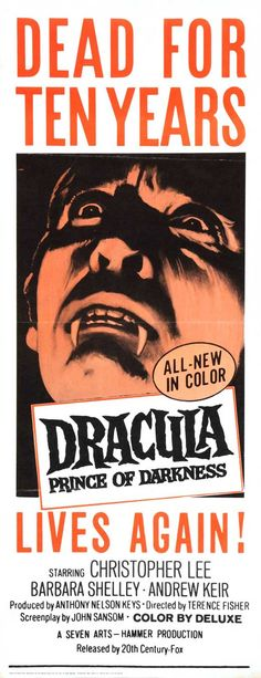Dracula: Prince of Darkness (1966)(Insert)
