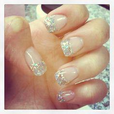 Glitter tips :)