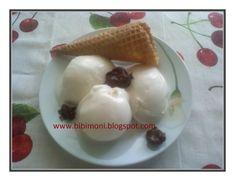 Banánfagylalt | Bibimoni Receptjei Sorbet, Waffles, Ice Cream, Pudding, Breakfast, Food, No Churn Ice Cream, Morning Coffee, Icecream Craft
