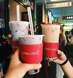 #Repost @ yumfoodprints Sweet relief with the Taro Milk Tea (similar to sweet potato and often compliments Asian coconut desserts) with Grass Jelly (also sometimes known as Chinese Herbal Jelly) from @gongchatea  - it's always exciting for me to try new things even though a lot of the times it back fires but when it works it's really worth it! And this is one of those times! #yumfoodprints #gongcha #milktea #taro #bobatea #melbourneeats #melbournefood #melbournefoodie #koreanfood #foodiegram…