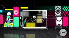 Working with the LAB's team at MTV Latin America, PES developed the graphic package for MTV Display, a virtual gallery made entirely in 3D. For this project we created a multi-dimensional presentation framework that engages millennials by keeping everyone updated and in sync with new products and channel developments  Junto al equipo de LABs de MTV Networks Latinoamética desarrollamos el paquete gráfico para MTV Display, una galería virtual realizada íntegramente en 3D. Creamos un marco…