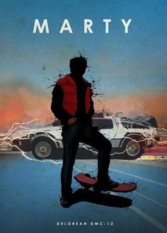 Eden Design Car Legends Moto car cars legend delorean back to the future marty mcfly michael j fox Displate Prints on Steel Iconic Movies, Classic Movies, Great Movies, Classic Cars, Poster Manga, Movie Poster Art, Auto Poster, Car Posters, Custom Posters