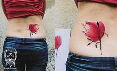 Bumpkin Tattoo papoula