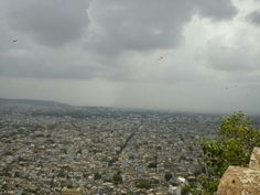 Jaipur city from Naahargarh fort