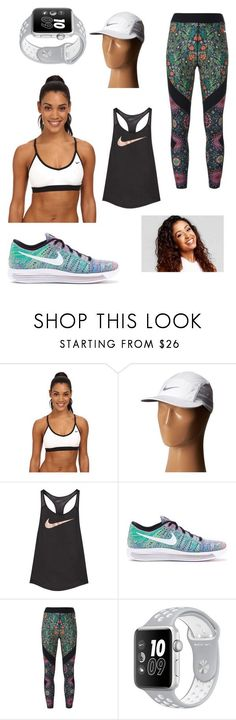 Liza Koshy Nike outfit by merelstevens ❤ liked on Polyvore featuring NIKE