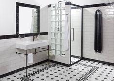 Používání protikladných prvků je v interiéru hodně populární, ani obklady a dlažby nejsou výjimkou. Co to ale znamená v praxi z pohledu aktuálních trendů? Double Vanity, House, Home, Master Bathroom, Industrial, Koncept, Bathroom Vanity, Brick, Bathroom