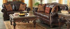 Ashley North Shore Living Room Set