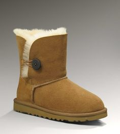 Cheap Uggs Bailey Button 5991 Boots For Kids [UGG UK 034] - $90.00 :
