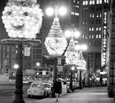Holidays in Downtown Detroit, 1960s