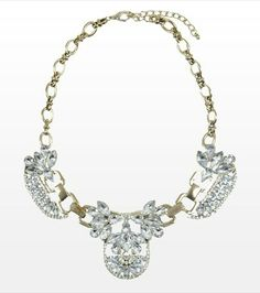 #DYNHOLIDAY Make a fashion statement with this gorgeous stone necklace! Perfect for dressing up your cocktail dress!
