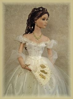 Elizabeth, Empress of Austria  Arrayed in Gold: Historical Dolls (Empresses and Queens)
