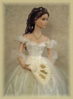 Elizabeth, Empress of Austria  Arrayed in Gold: Historical Dolls (Empresses and Queens)