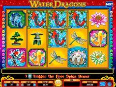 Erhole mit dem Water Dragons Spielautomat von IGT! Habt Spass zsm und lerne mehr über chinesiche Kultur! Water DragonsAutomatenspiel von IGT ist das was du brauchst!