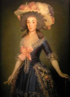 ca. 1785 Duquesa de Osuna by Francisco de Goya y Lucientes