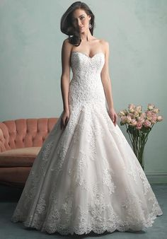 Allure Bridals 9159 Wedding Dress - The Knot