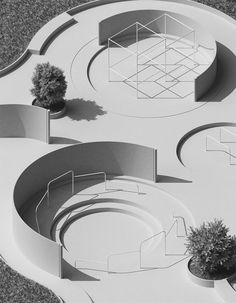 Imaginary Places for Mundane Activities: Works by Max Guther – SOCKS Architecture Graphics, Concept Architecture, Landscape Architecture, Landscape Design, Architecture Design, Landscape Model, Pavilion Architecture, Masterplan, Playground Design