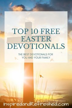 Enjoy Easter more this year with these free devotionals. Eight-Day Reading Plan available for free download! #inspiredandrefreshed Bible Study Plans, Bible Study Tips, Christian Living, Christian Life, Encouraging Bible Quotes, Easter Devotions, Presence Of The Lord, Daily Scripture