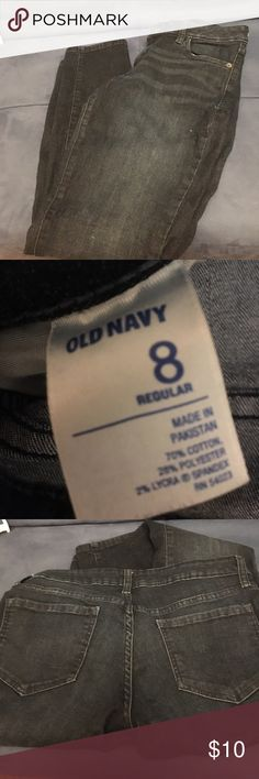 Jeans Sz 8 regular jeans. Gently worn. Old Navy Jeans