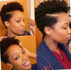 Summer Cuts ( Short Natural Hair)