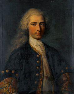 Niklaus Tscharner by Johann Rudolf Huber,1719
