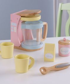 Take a look at this Coffee Set by KidKraft on #zulily today!