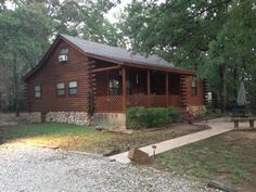 Great little secluded cabin just outside turner falls for Atv parks in texas with cabins
