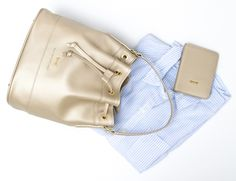JACKIE leather bucketbag