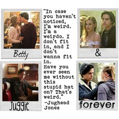 Betty Cooper and Jughead forever (or at least most of season 2) #Riverdale