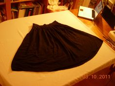 How to sew a sheer maxi skirt like a COMPUTER SCIENTIST (quick and easy directions)