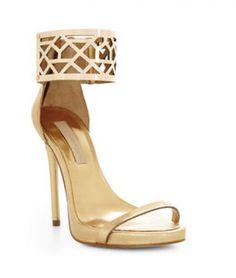 Go Buy Now: Metallic Sandals   theglitterguide.com