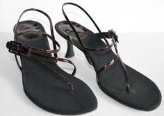 Stuart Weitzman Sandals 8 Heels #StuartWeitzman #Sandals