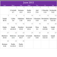 "June 2015 ""Restore"" prayer calendar. For a free downloadable version & monthly devotional email calendar@iprayallday.com"