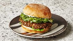 Lentil Burgers Recipe: Everyone questioned why the world needed another Veggie Burger Recipe until they saw how easy and Monday-nightable this one is. You can even Make the Patties 4 Days ahead to Cut Down on your day-of Prep Time. Lentil Burgers, Veggie Burgers, Veggie Burger Patty, Turkey Burgers, Enjoy Your Meal, Brown Lentils, Still Tasty, Roasted Mushrooms, Recipes