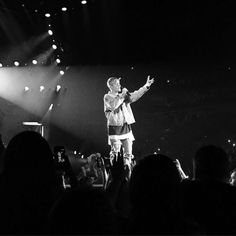 May 10: [More] Fan taken photos of Justin performing in Boston, MA.