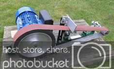 Modular Grinder Kits Tools Of The Trade Metal Working Tools, Metal Tools, Belt Grinder Plans, Steel Workbench, Belt Knife, Sheet Metal Work, Knife Grinder, Welding And Fabrication, Blacksmith Tools