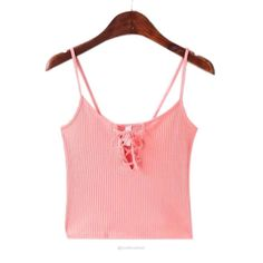 Ribbed Cotton Lace Up Camisole Crop Top-Tank Tops-Look Love Lust,  https://www.looklovelust.com/products/ribbed-cotton-lace-up-camisole-crop-top