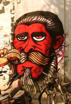 Streets in Hauz Khas Artist : Harsh Raman Where? Haus Khas, New Delhi