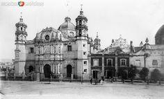 Fotos de Ciudad de México, Distrito Federal, México: Basílica de Guadalupe (por William Henry Jackson, c. 1888)