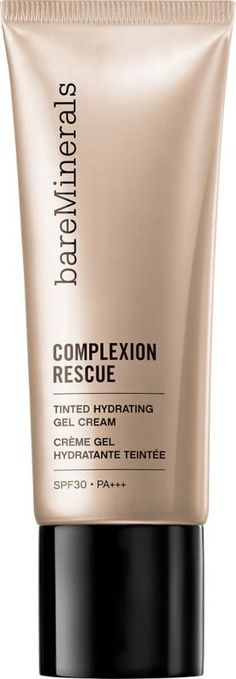 Bare Minerals Complexion Rescue Tinted Hydrating Gel Cream is releasing January 22nd for Spring 2015 in ten shades. It's exciting to see Bare Minerals taki