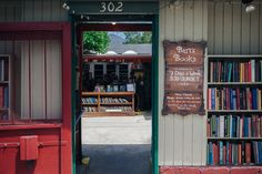 Barts in Ojai.  One of the thirty most beautiful bookstores in the world.
